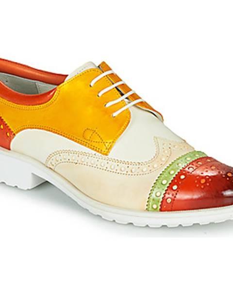 Biele topánky Melvin   Hamilton