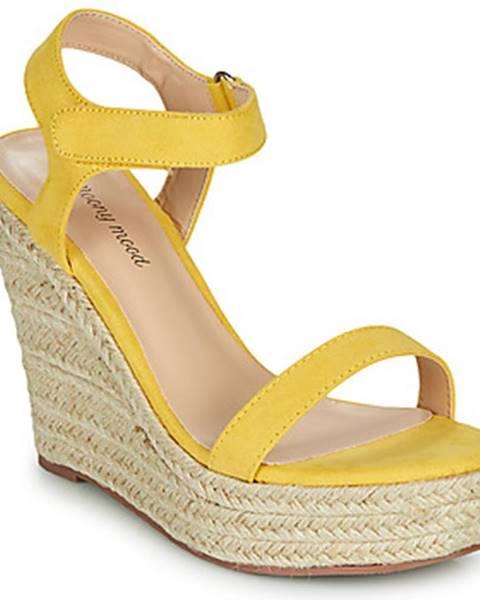 Žlté sandále Moony Mood