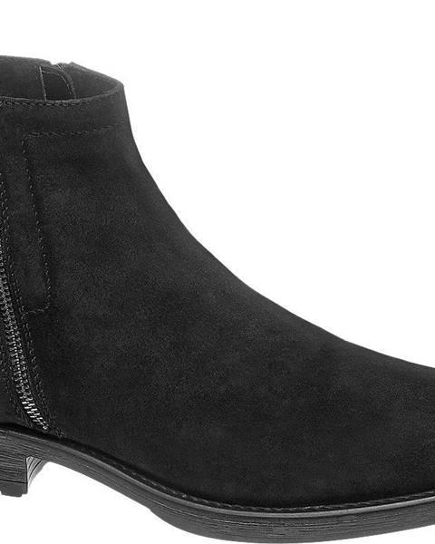 Čierne topánky AM SHOE