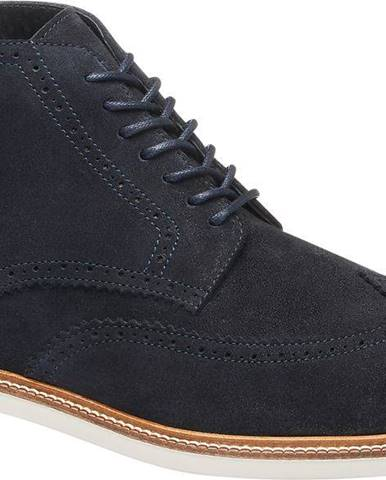 Tmavomodrá zimná obuv AM SHOE