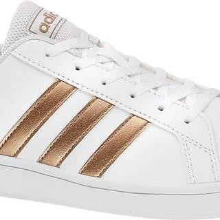 adidas - Biele tenisky Adidas Grand Court