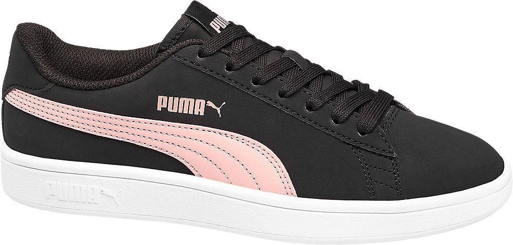 Puma Puma - Čierne tenisky Puma Smash