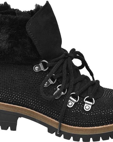 Čierne topánky Graceland