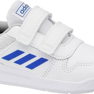 adidas - Biele tenisky na suchý zips Adidas Tensaur Inf