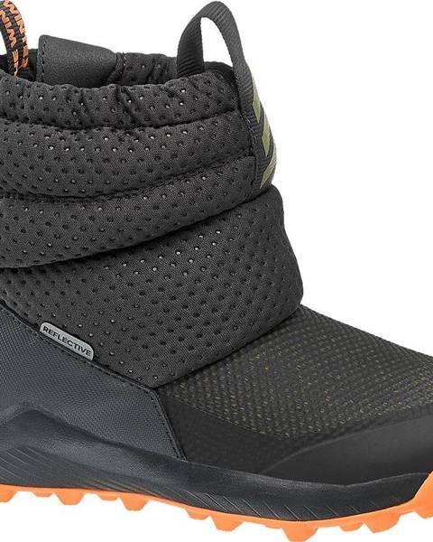 Sivá zimná obuv adidas
