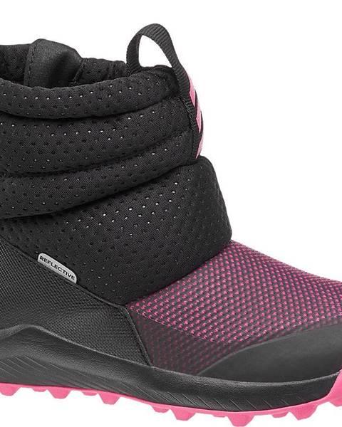 Ružová zimná obuv adidas
