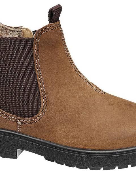 Hnedé topánky Elefanten