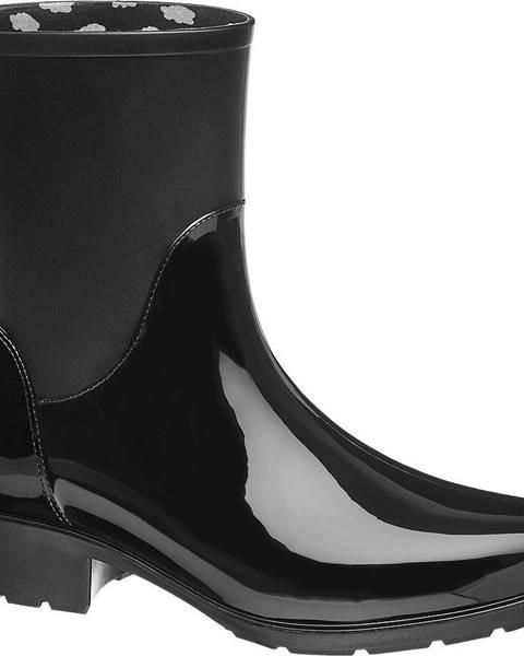Čierne gumáky Graceland