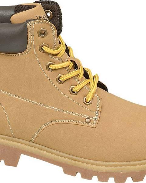 Hnedé topánky Landrover