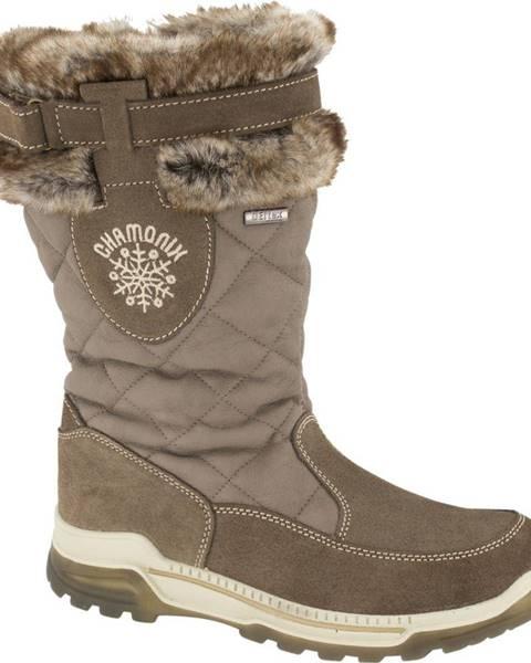 Hnedá zimná obuv Landrover