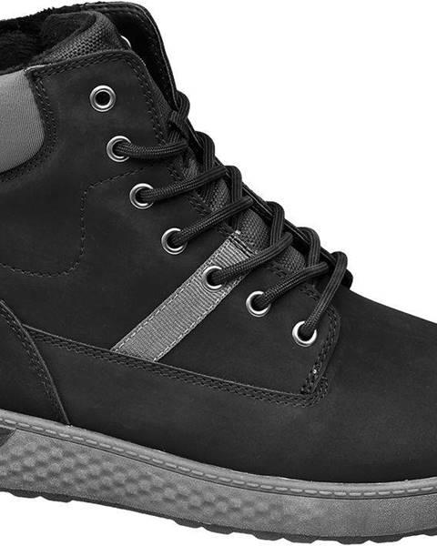 Čierne topánky Vty