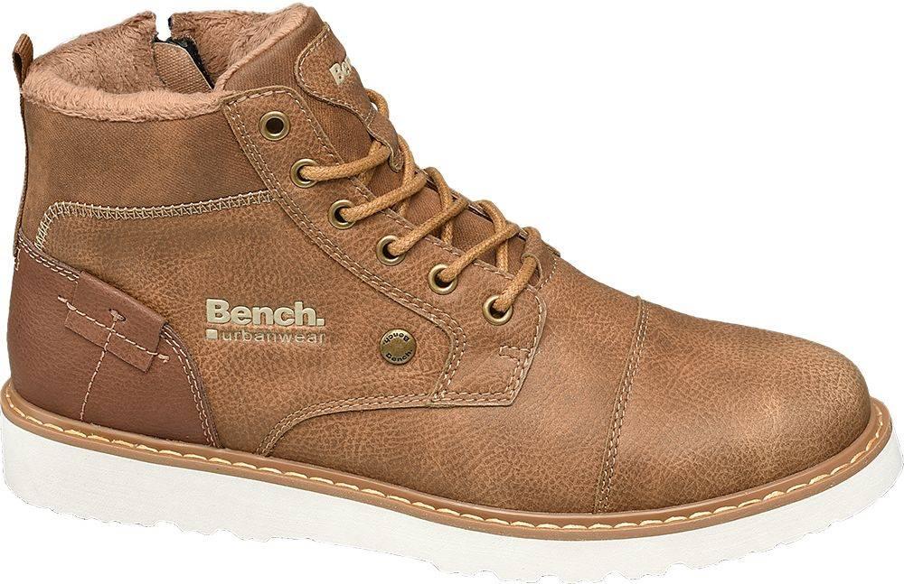 Bench Bench - Hnedá členková obuv Bench