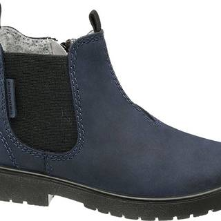 Elefanten - Modrá kožená Chelsea obuv Elefanten