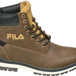Fila - Hnedá členková obuv Fila