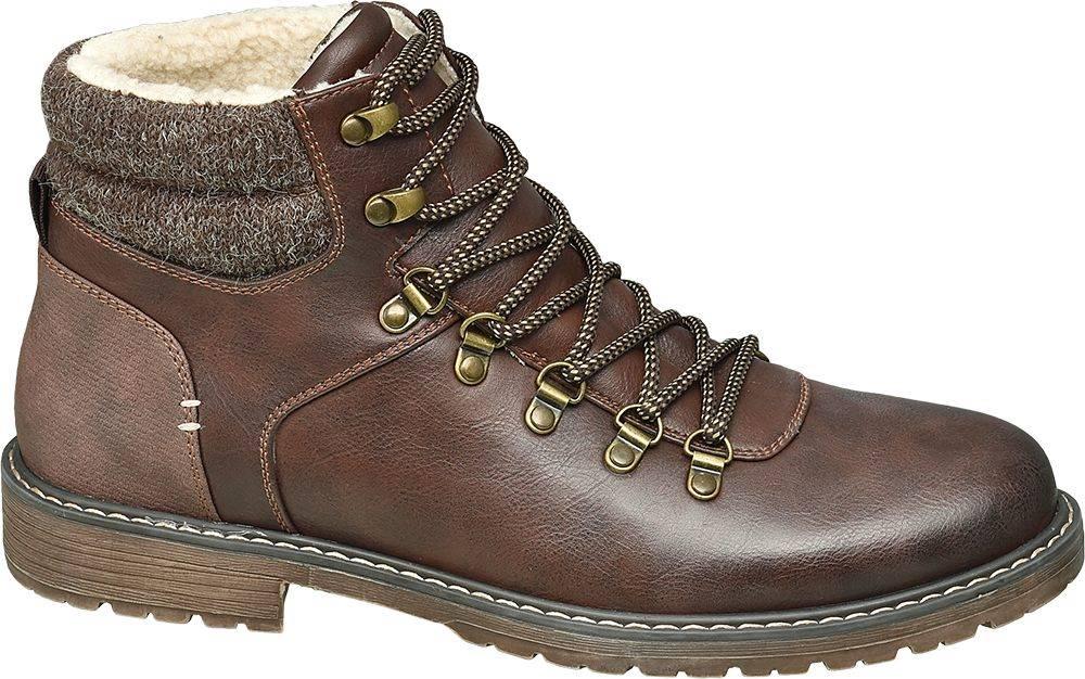 Landrover Landrover - Hnedá členková obuv Landrover