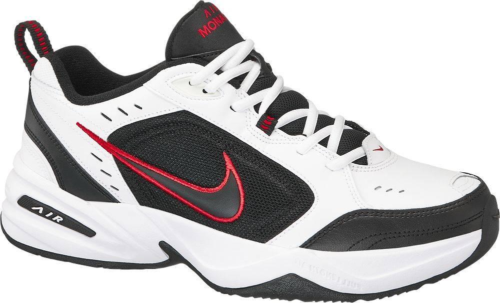 Nike NIKE - Bielo-čierne tenisky Nike Air Monarch