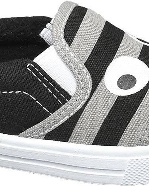 Sivé espadrilky Bobbi-Shoes
