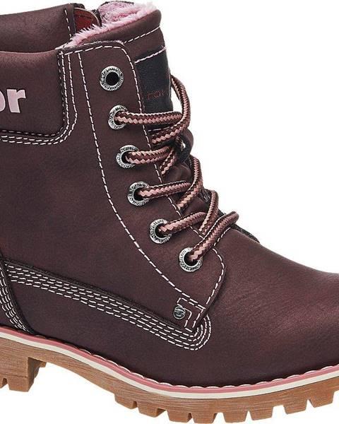 Bordové topánky Tom Tailor