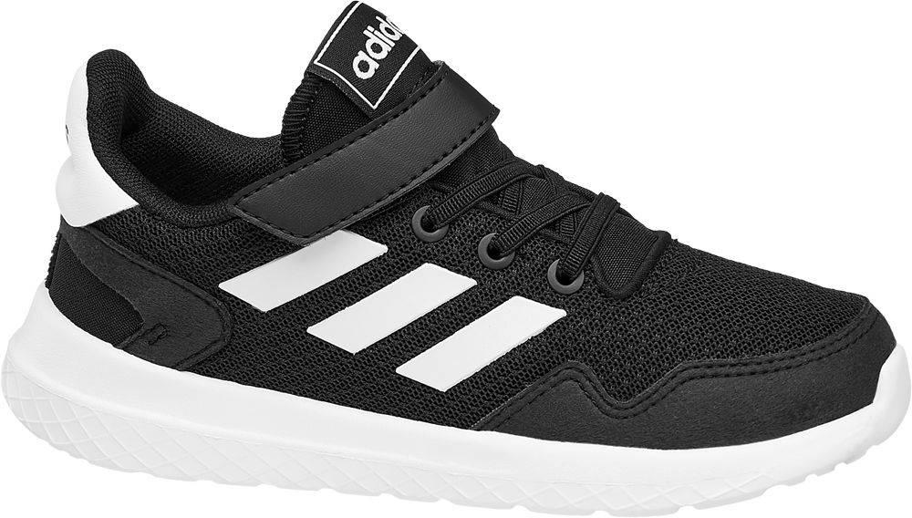 adidas adidas - Čierne tenisky na suchý zips Adidas Archivo C