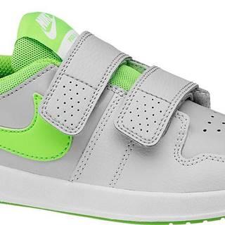 NIKE - Sivé tenisky na suchý zips Nike Pico 5 Psv