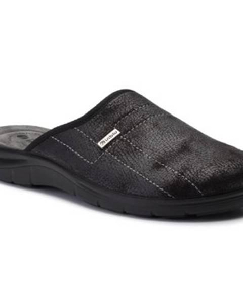 Čierne papuče INBLU
