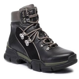 Šnurovacia obuv Lasocki RST-KUGA-01 koža(useň) zamšová,koža(useň) lícová