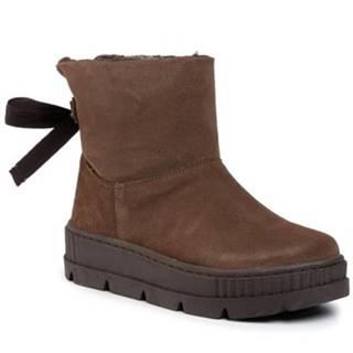 Členkové topánky Gino Rossi WI16-FASANO-04 koža(useň) zamšová