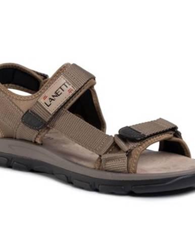 Béžové sandále Lanetti