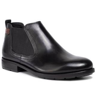 Členkové topánky Lasocki for men MI08-C593-584-02 Prírodná koža(useň) - Lícova