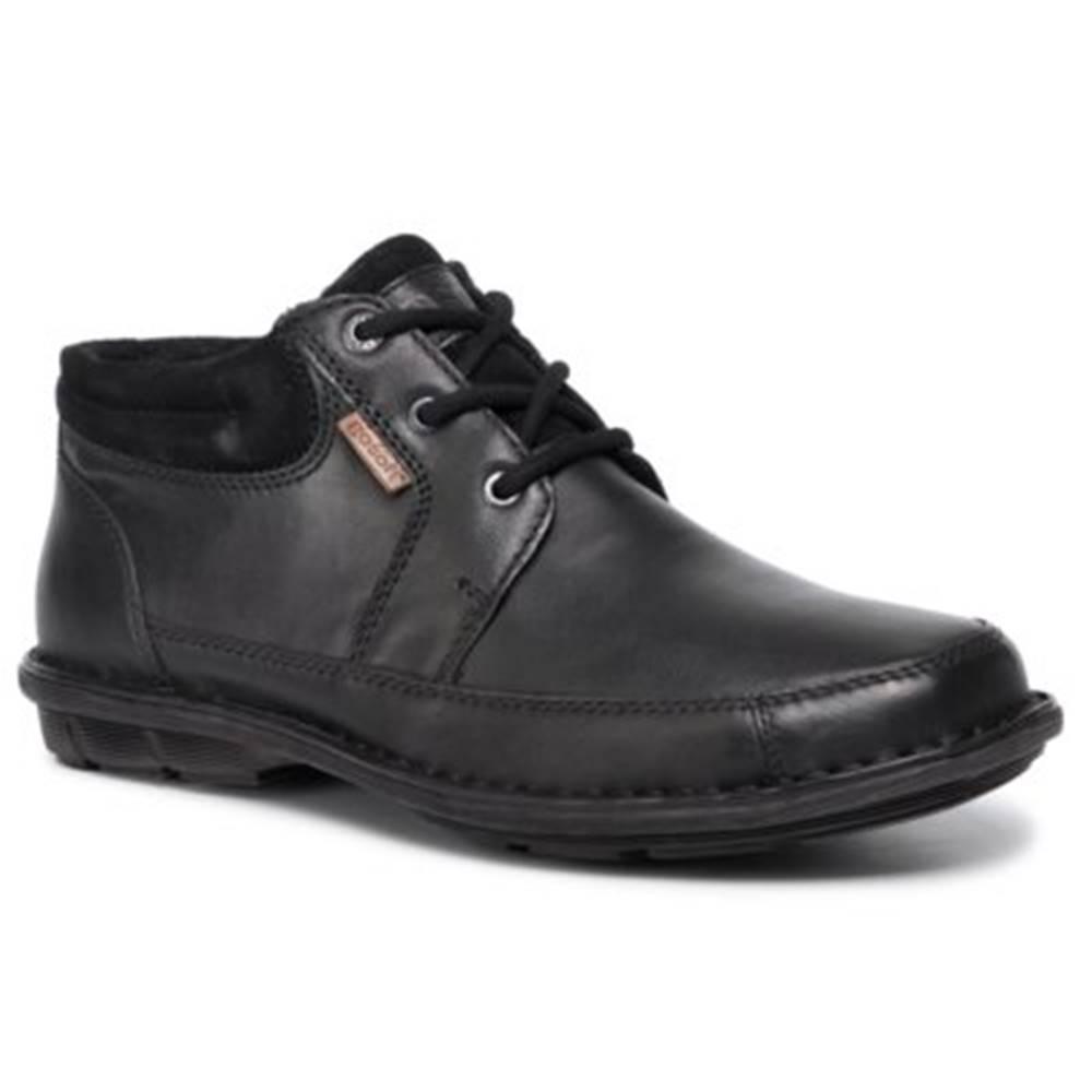 GO SOFT Šnurovacia obuv GO SOFT MI08-C508-573-05 Prírodná koža(useň) - Zamš