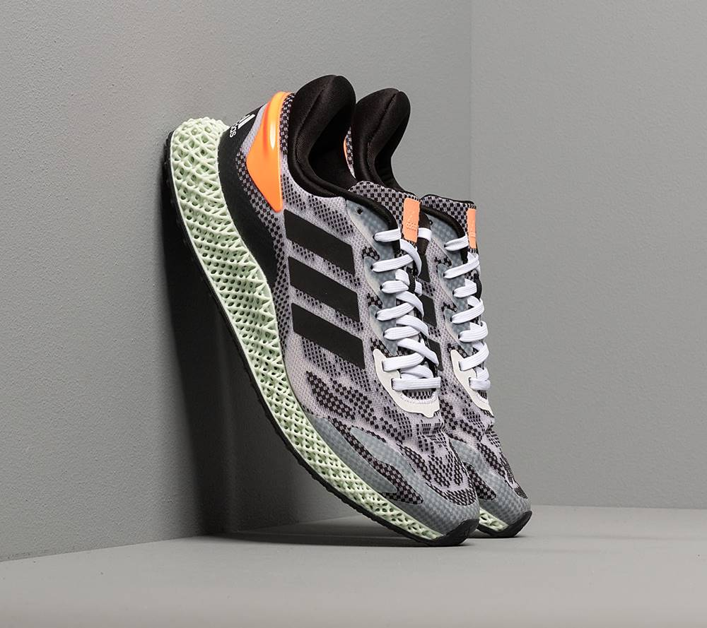 adidas Performance adidas 4D Run 1.0 Ftw White/ Core Black/ Signature Coral