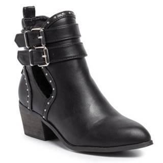 Členkové topánky DeeZee WS270209-01 koža ekologická