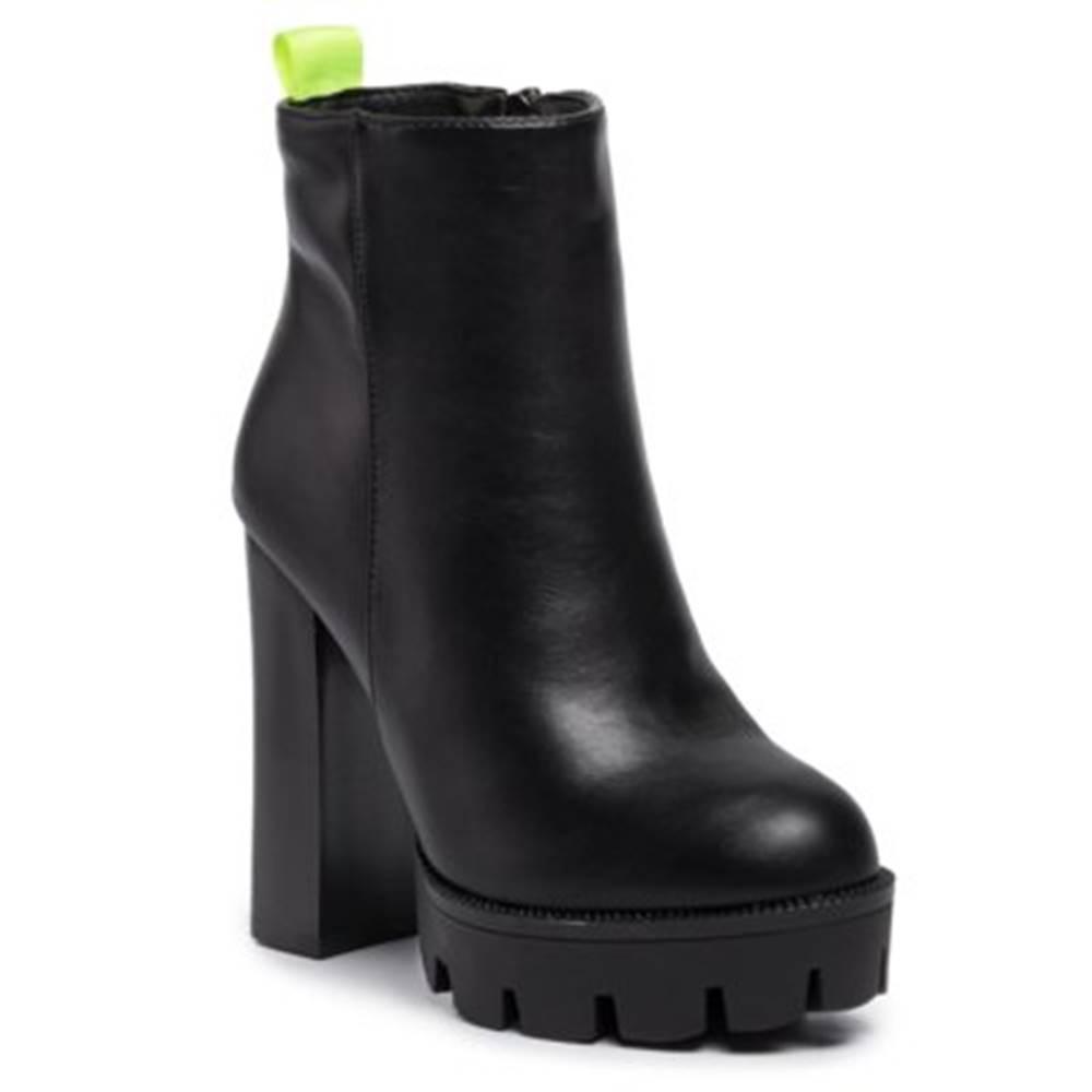 DeeZee Členkové topánky DeeZee WSD19006-2 koža ekologická