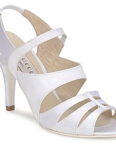 Biele sandále Vouelle