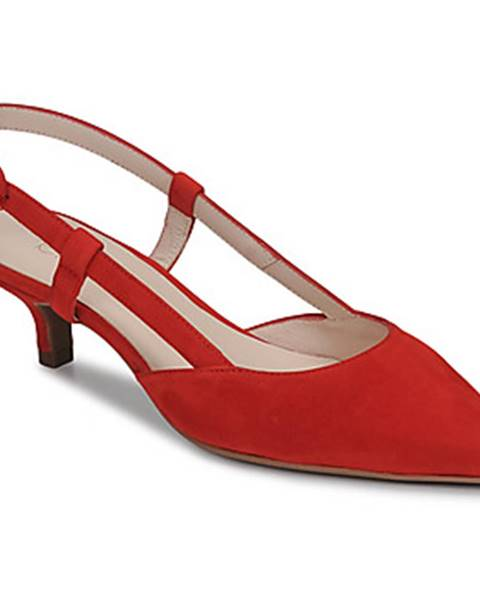 Červené lodičky Fericelli