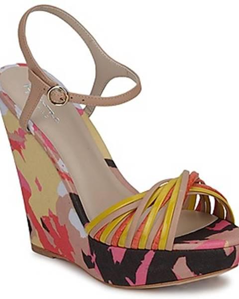 Viacfarebné sandále Bourne