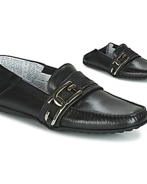 Čierne topánky John Galliano