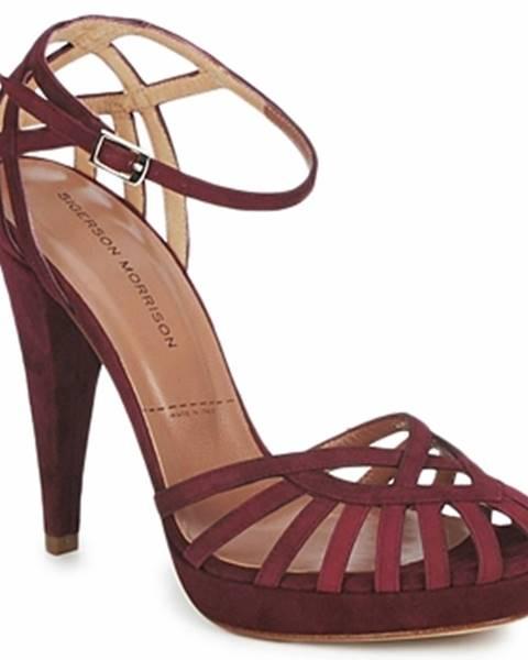 Červené sandále Sigerson Morrison