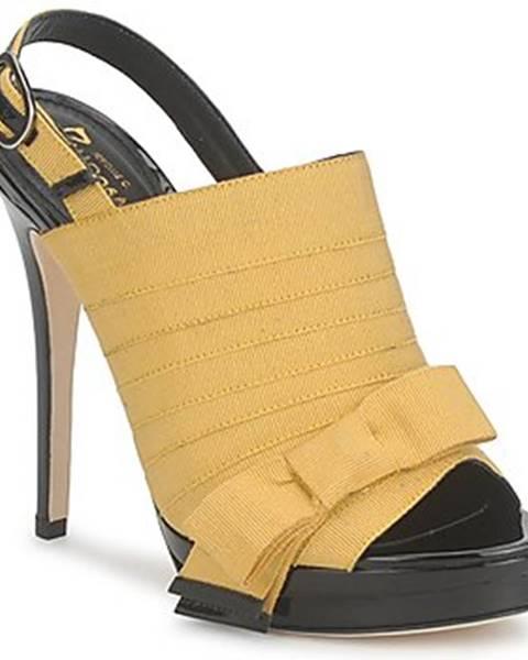 Žlté sandále Jerome C. Rousseau