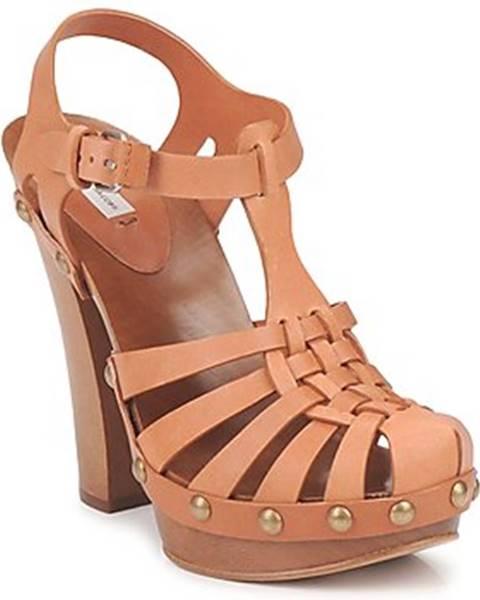 Béžové sandále Marc Jacobs