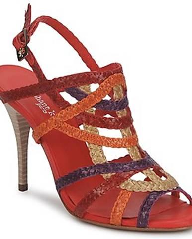 Červené sandále Stéphane Kelian