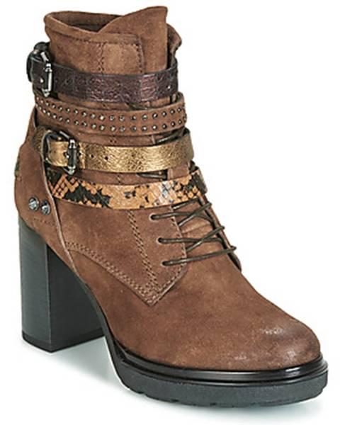Hnedé topánky Metamorf'Ose