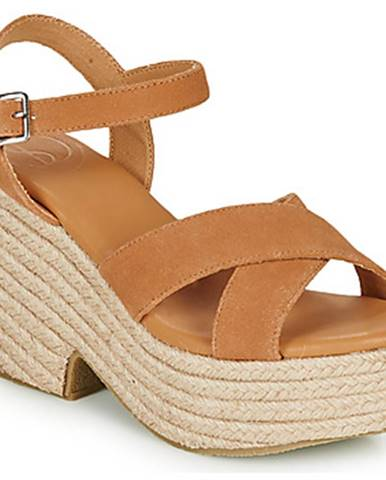 Sandále Superdry  HIGH ESPADRILLE SANDAL