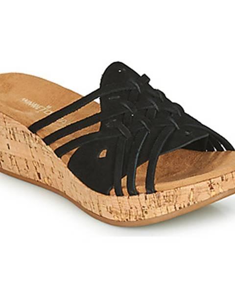 Čierne topánky Minnetonka
