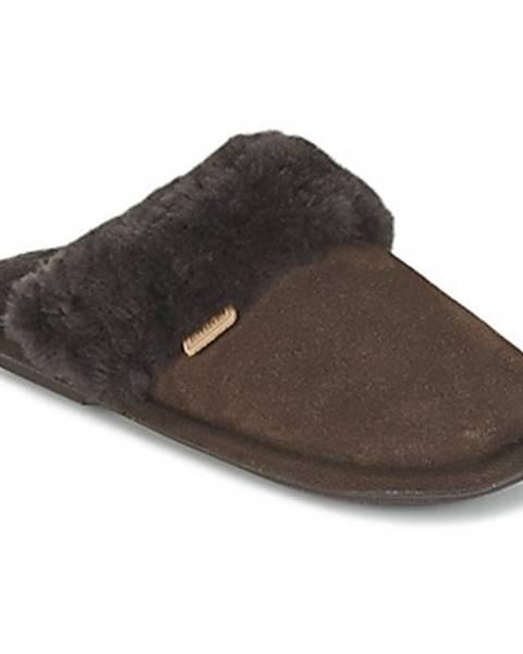 Hnedé papuče Just Sheepskin