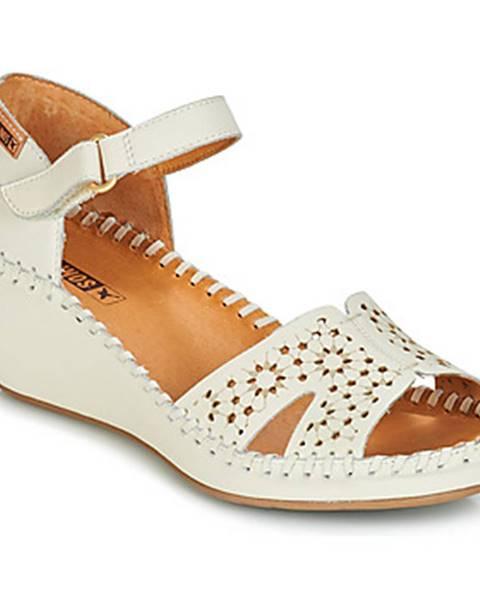 Biele sandále Pikolinos