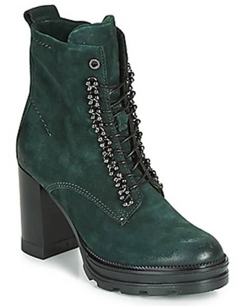 Zelené topánky Mjus
