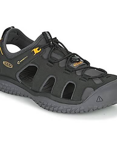 Čierne športové sandále Keen