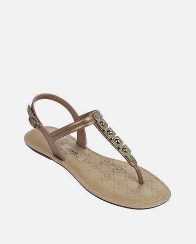 Zlaté sandále Grendha