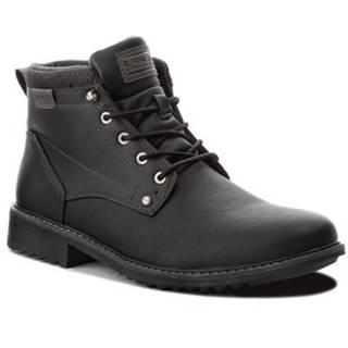 Šnurovacia obuv Lanetti MP07-16860-03BIG Ekologická koža/-Ekologická koža